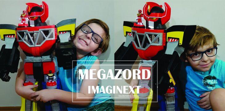 Megazord Imaginext – Mattel lança linha para os apaixonados por Power Rangers