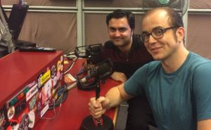 Rob and Scott at RTHK Radio 3