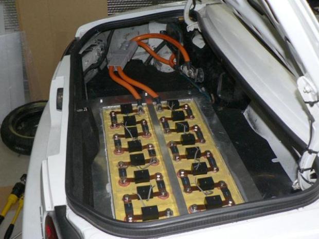 Elektroauto Batterie