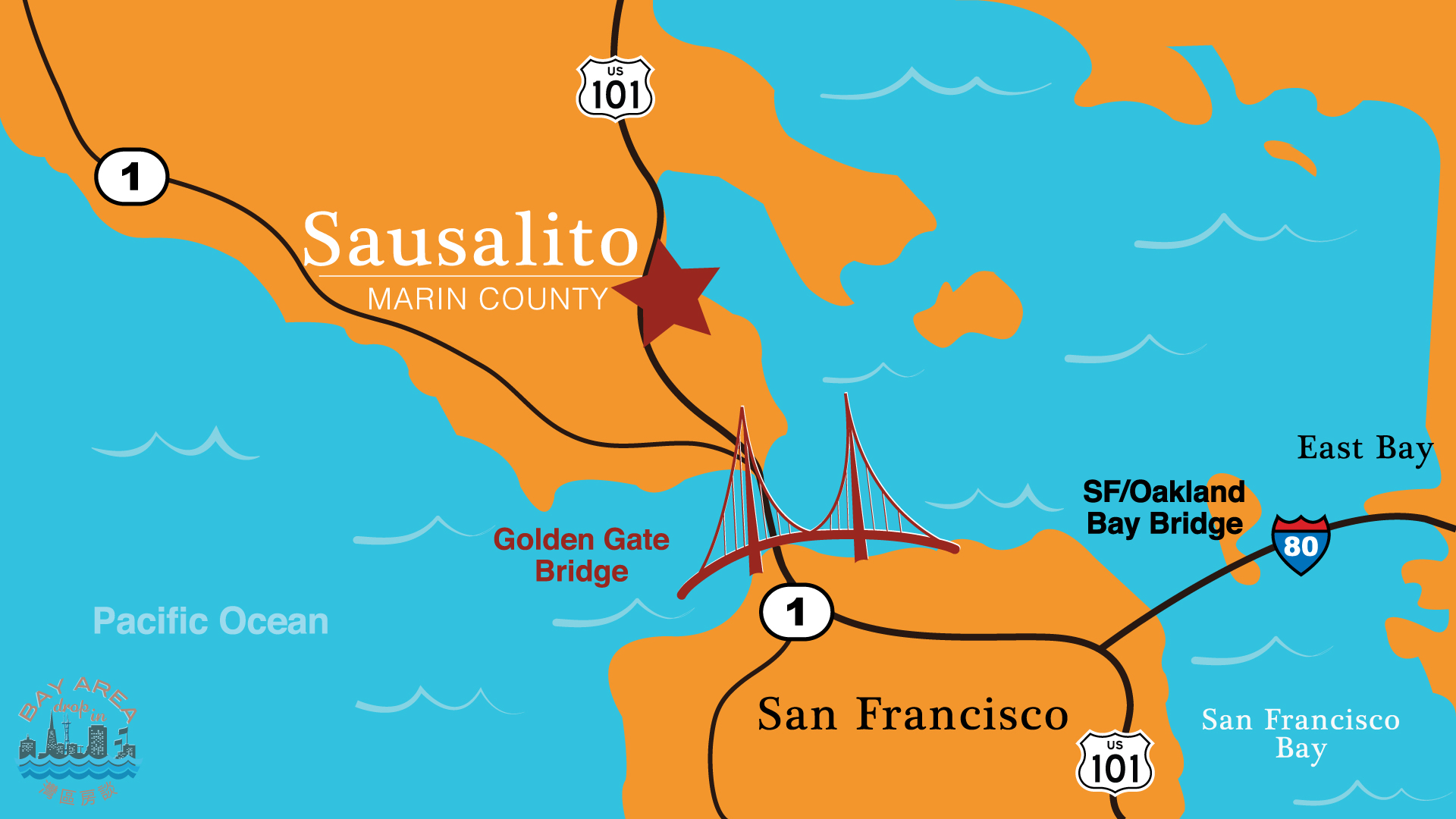 map of pleasanton california with Sausalito on Livermore further Mission San Jose furthermore Danville Ca additionally Hayward fault likewise Brownwood.