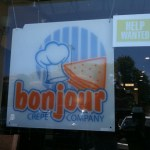 French Crepes at Bonjour in Cupertino