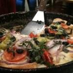 Pizza at Pizza Chicago in Santa Clara, CA