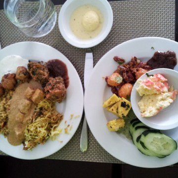 Indian buffet at Arka in Sunnyvale, CA