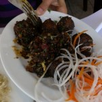 Indo-Chinese cuisine at Wang's Kitchen in Milpitas, CA