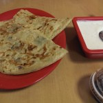 Aloo Paratha with raita