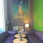 Amber - lobby/waiting area