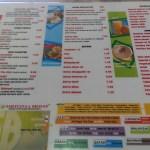 HSB - menu 1