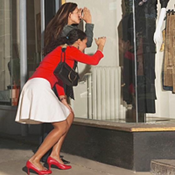 Image result for girls windows shopping gifs