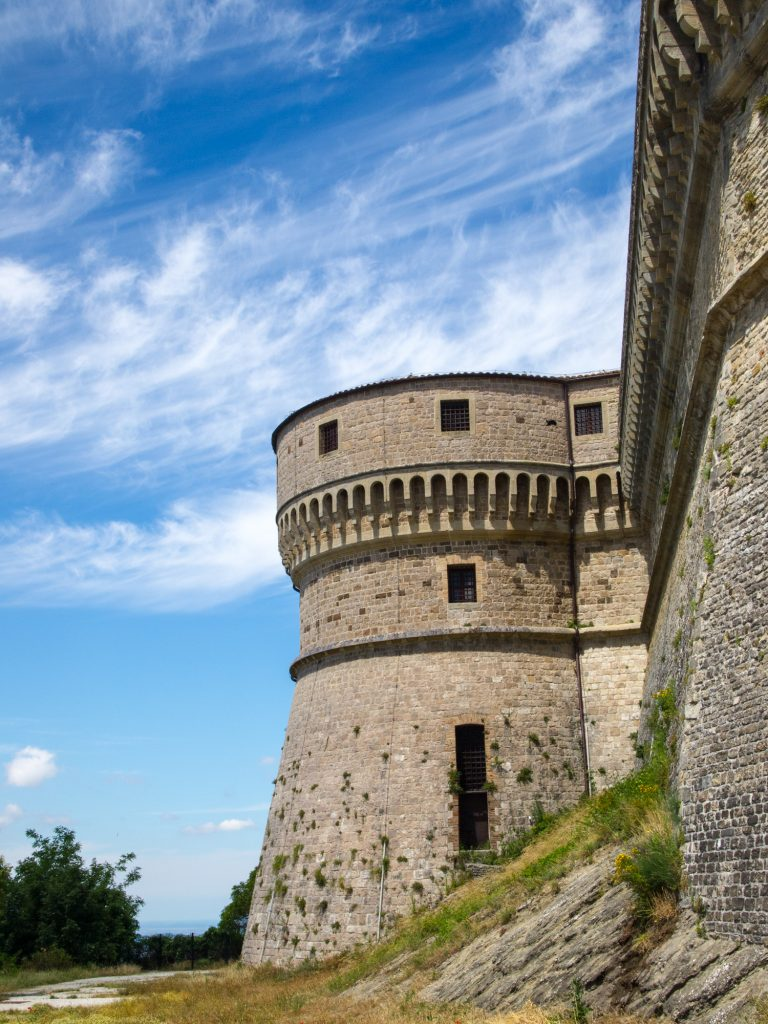 San Leo - Castello esterno