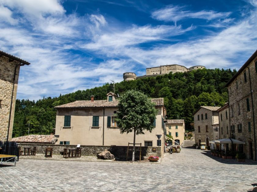 San Leo - il borgo medievale