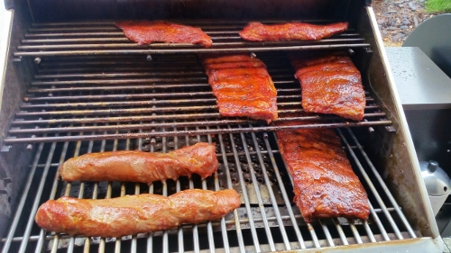 Memphis Pro Ribs and Pork Loin