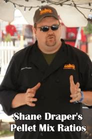 Shane Draper's Pellet Mix Ratios