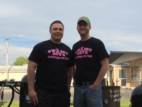 Hatfield and McCoys BBQ Team Swamp Out Cancer