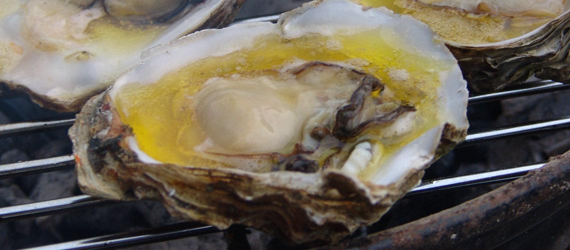 oesters van de bbq