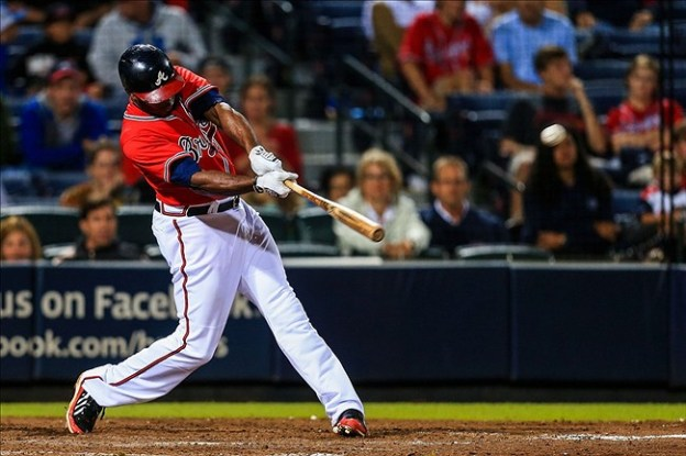 Justin Upton. Getty Images.