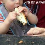 Vegan sandwich for babies