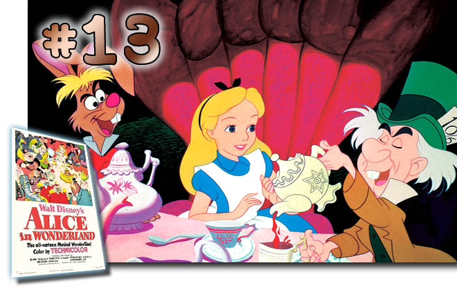 # 13 Alice In Wonderland: BCDB List of Disney Animated Films
