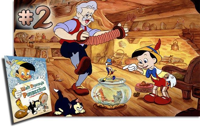 2 Pinocchio: BCDB List of Disney Animated Films