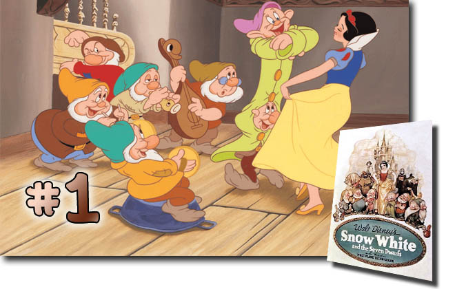 1 Snow White And The Seven Dwarfs: BCDB List of Disney Animated Films