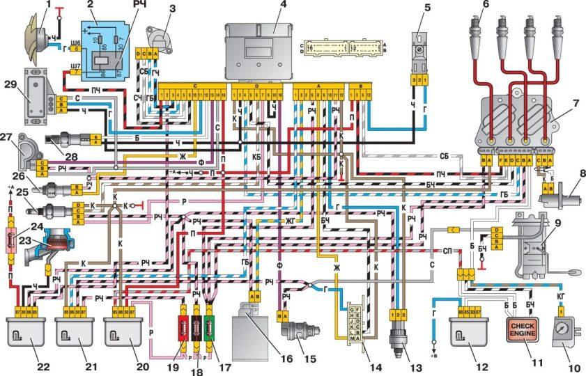 Инжектор Ваз2107