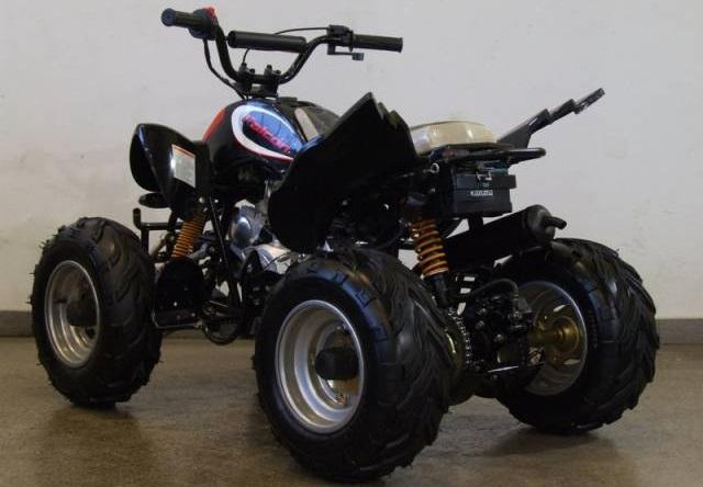 Квадроцикл - фактически любой четырёхколёсный транспорт