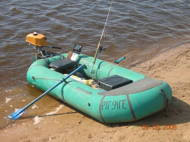 киль своими руками на надувную лодку