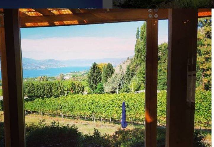 View from La Frenz Tasting Room