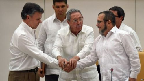Colombia peace deal – A Historic agreement of 2016