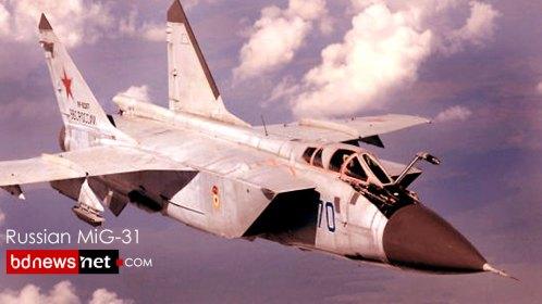 MiG-31 interceptor practice in  32,808 feet of stratosphere .