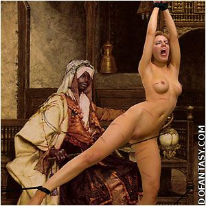 bdsm wooden pony torture