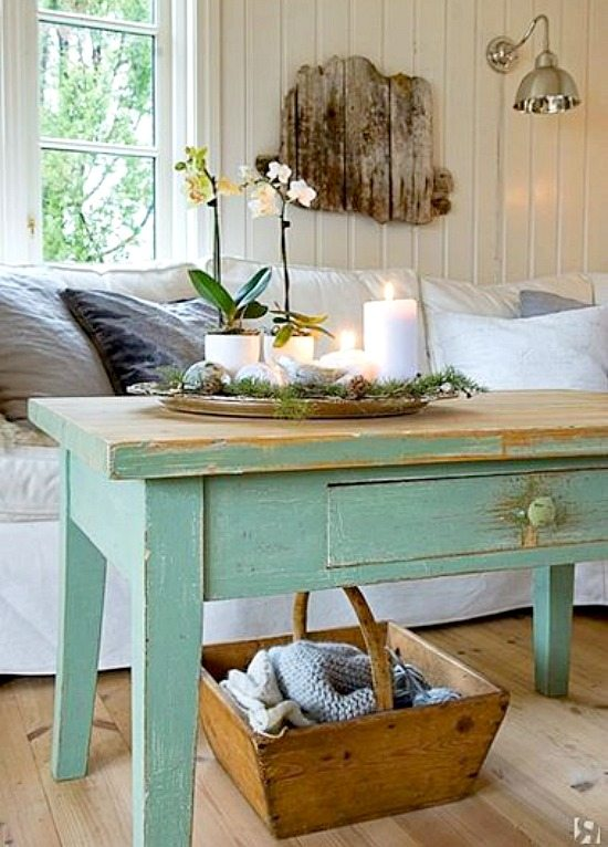 Shabby chic beach decor ideas for your beach cottage for Coastal cottage decorating ideas