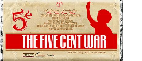 FiveCentWarPoster