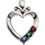silver-heart-birthstone-pendant
