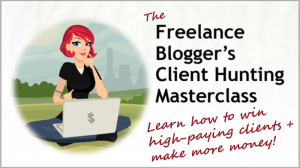 The Freelance Blogger's Client Hunting Masterclass image