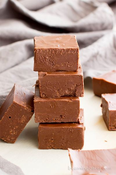 2 Ingredient Vegan Chocolate Peanut Butter Freezer Fudge (Vegan, Gluten Free, Dairy-Free ...