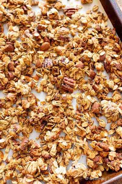 Gluten Free Chai Spice Granola Recipe (Vegan, Healthy, Dairy-Free, Refined Sugar-Free) - Beaming ...