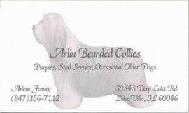 Web: www.arlinbeardedcollies.com Email: beerdylvr@aol.com
