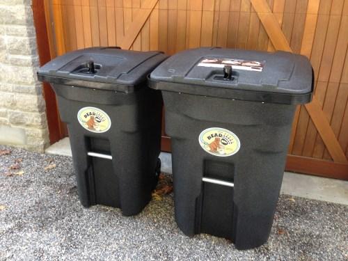 Medium Of 64 Gallon Trash Can