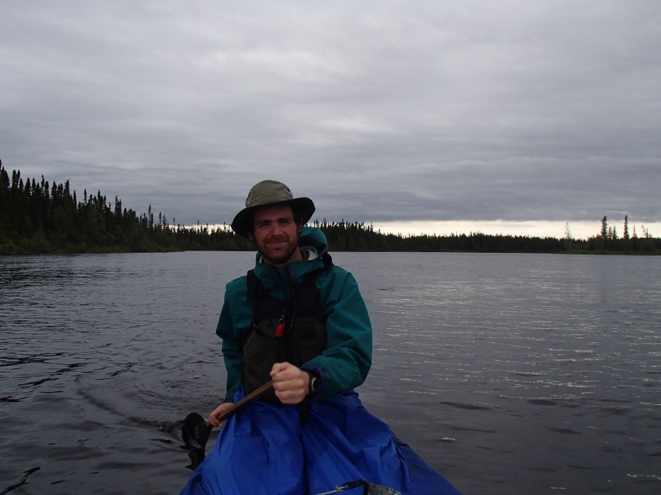 Paddling the Otoskwin in the rain