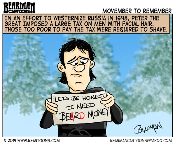 11-21-14-Bearman-Cartoons-Peter-the-Great-Beard-Tax