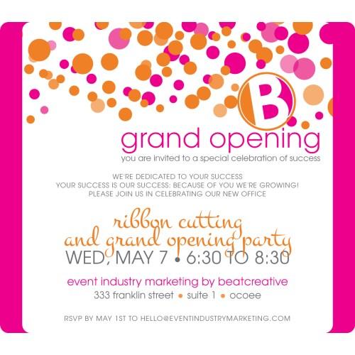 Medium Crop Of Grand Opening Invitation