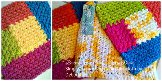 Log Cabin Dishcloths