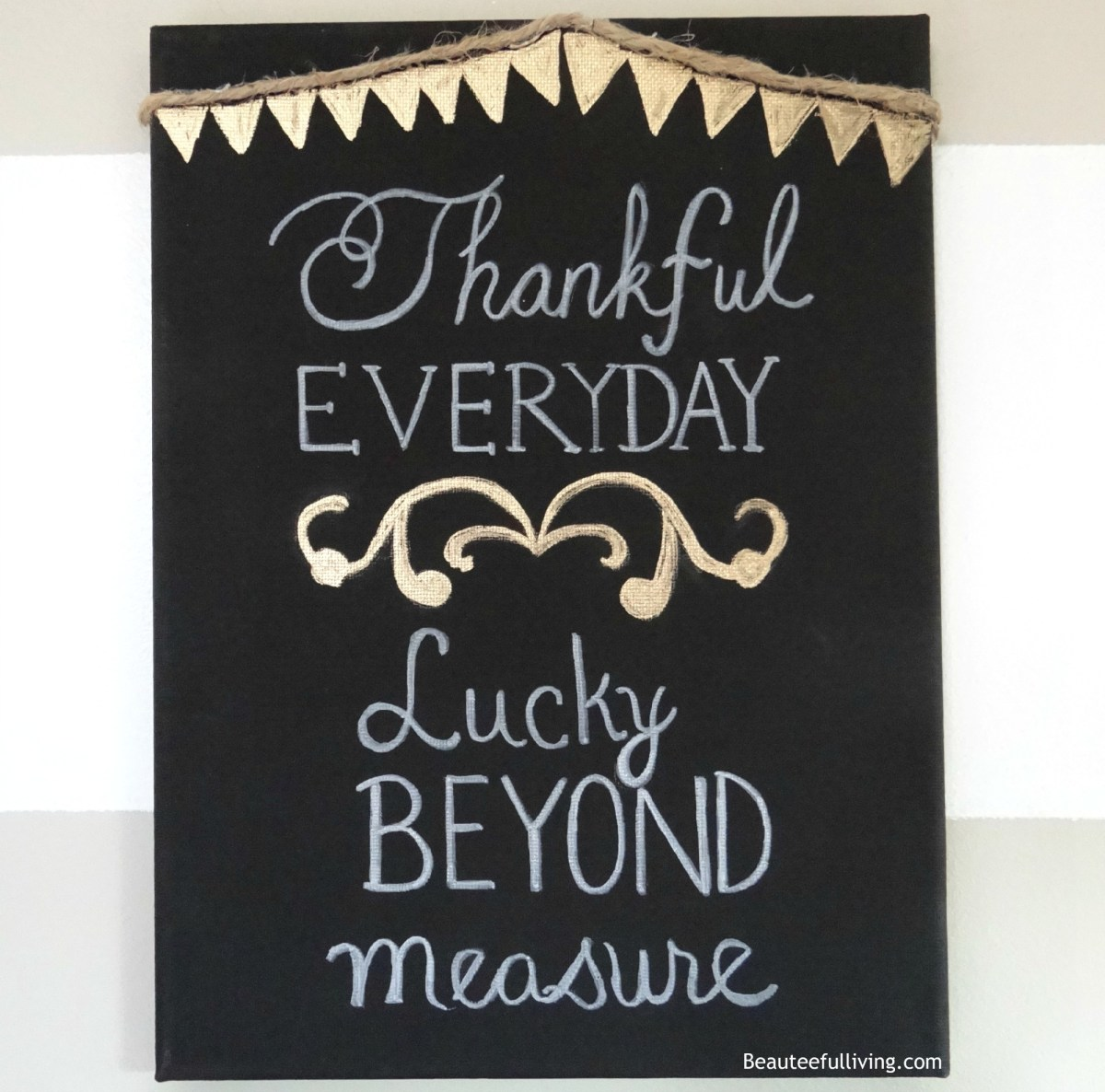 Thankful Everyday Canvas Art