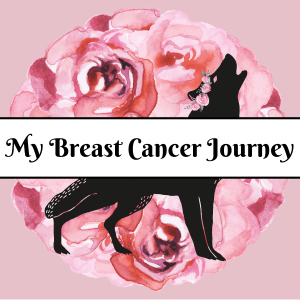 my breast cancer journey button wolf