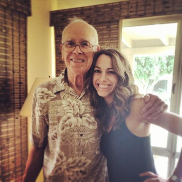 Dani with Grandpa