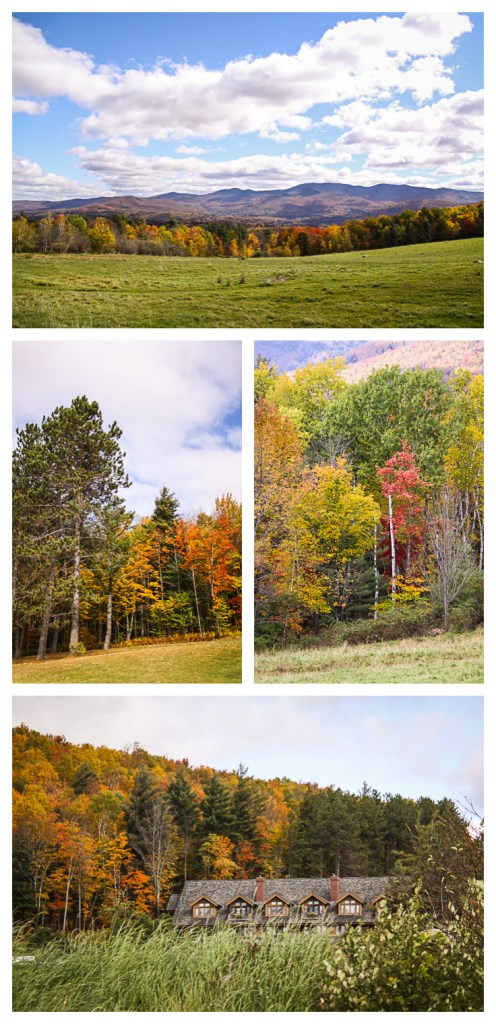 vermont in the fall - lodge