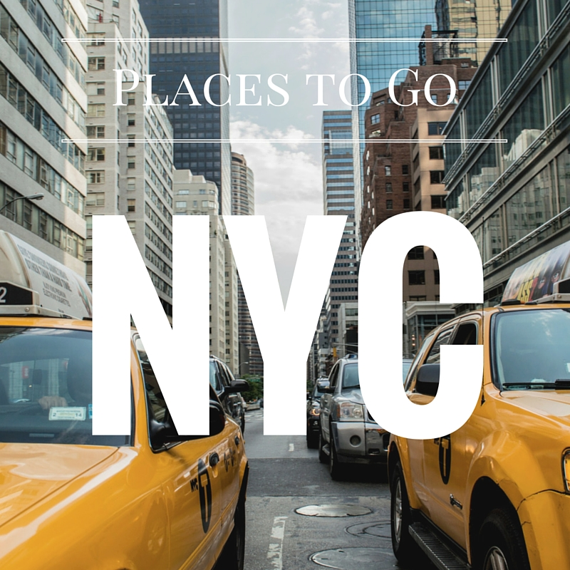 New York City – Places to Go