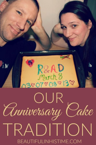 anniversary cake tradition