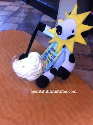 21 chickfila cow ice cream