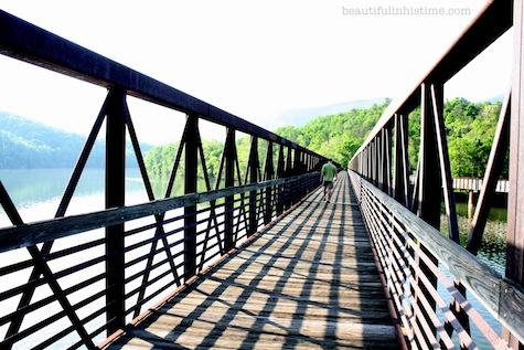 James River Virginia Appalachian Trail Bridge Railroad Tracks Virginia Vacation
